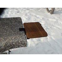 Доска роздільна (дуб) для садового каміна - барбекю