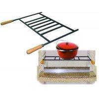 Решетка для казана для садового камина - барбекю