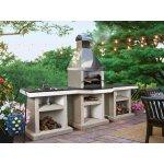 Садовый камин - барбекю Stimex Crasia BLF комплект
