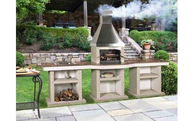 Садовий камін - барбекю Stimex Crasia BMF комплект