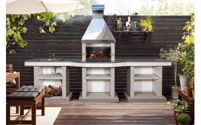 Садовый камин - барбекю Stimex Crasia BPF комплект