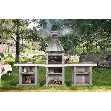 Садовий камін - барбекю комплект Stimex Steel BMF