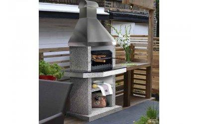Садовый камин - барбекю Stimex Steel BLF