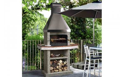 Садовый камин - барбекю Stimex Steel BMF