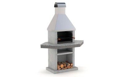 Садовий камін - барбекю Stimex Steel BPU