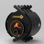 Печь - булерьян Canada classic 00 (Канада классик 00) со стеклом и  защитным кожухом