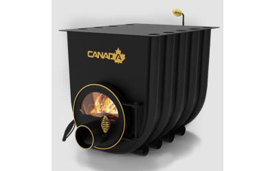 Опалювально - варочна піч - булерьян Canada classic 02 (Канада класик 02) зі склом