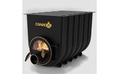 Опалювально - варочна піч - булерьян Canada classic 03 (Канада класик 03) зі склом