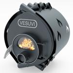 Піч - булерьян Vesuvi classic 01 (Везувій класик 01) зі склом та захисним кожухом