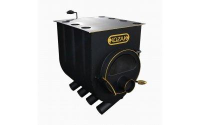 Отопительно - варочная печь - булерьян Kozak 01 (Козак 01) со стеклом