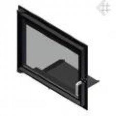 Дверца для камина Zuzia (Зузия) (515х652)