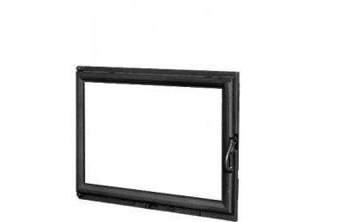 Чавунні дверцята для каміна KAW-MET W11