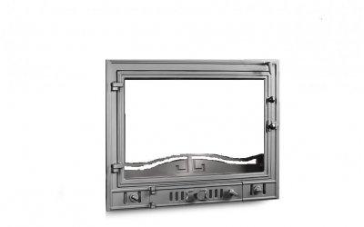 Чугунная дверь для камина KAW-MET W4