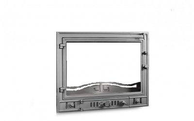 Чавунні дверцята для каміна KAW-MET W4