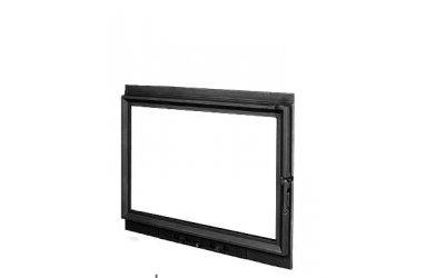 Чугунная дверь для камина KAW-MET W8