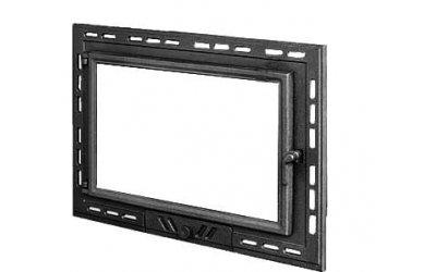 Чавунні дверцята для каміна KAW-MET W9