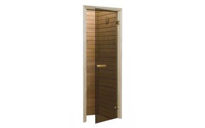 Дверь для бани и сауны Raiser (бронза)